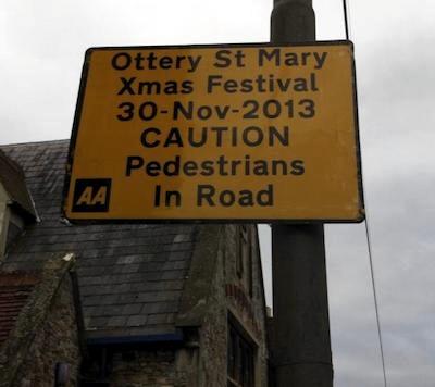 Ottery St Mary Festive Fun Day